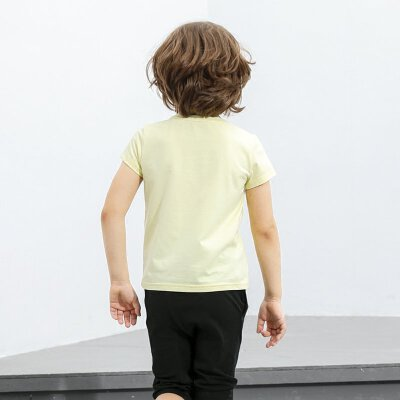 【会员节! 每满100减50】amii童装2017男童T恤短袖夏装棉质中大童儿童半袖新款男孩上衣