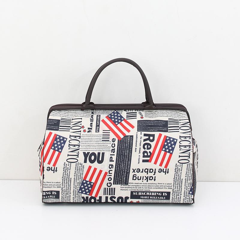 手提旅行包女行李袋大容量韩版短途男士防水小行李包旅行袋旅游包