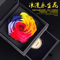 进口巨型玫瑰花永生花礼盒定制结婚纪念日情侣礼物送女友朋友老婆