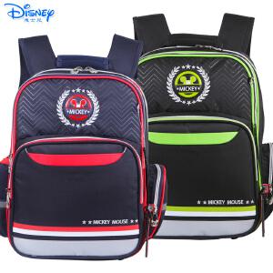 迪士尼米奇男生小学生1-3年级儿童卡通双肩减负透气书包TGMB0196
