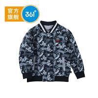 【下单立减2.5折价:79.8】361度童装男童外套儿童两面穿外套秋季儿童外套K5181167