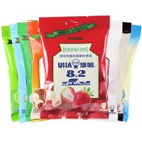 UHA悠哈味觉糖 特浓牛奶糖120g 椰子/草莓/原味奶糖果 婚庆喜糖果