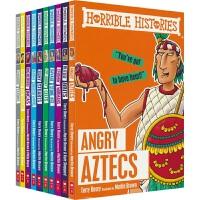 【首页抢券300-100】Scholastic Horrible Histories Series 可怕的历史 10册