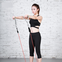 健身弹力绳 男士力量训练弹力带胶管女家用拉力器运动器材p8l