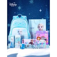迪士尼文具套装礼盒女儿童圣诞文具礼盒书包小学生开学大礼包保温杯幼儿园生日礼物上学用品文具福袋