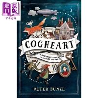 【中商原版】The Cogheart Adventures:Cogheart 齿轮之心历险记1 英文原版 进口图书 儿童