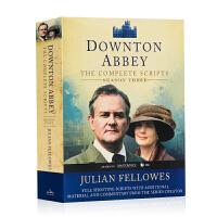 唐顿庄园第3季 剧本 Downton Abbey Script Book Season 3 英文原版小说 电视剧同名小