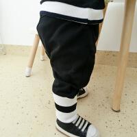婴儿裤子春装女小童打底裤1岁3个月男宝宝长裤小脚裤春秋装高腰裤