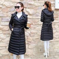 棉衣女外套中长款韩版修身轻薄羽绒棉服保暖棉袄 支持礼品卡支付