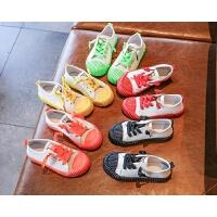 �和�帆布鞋男童布鞋女童板鞋百搭防滑平底�W生鞋