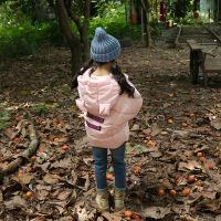 儿童羽绒服女童2018新款小孩韩版男童加厚保暖中小童宝宝冬季洋气 粉