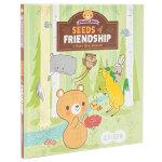 Peanut Bear 花生熊:友谊的种子 英文原版儿童绘本 3-6岁