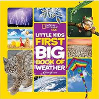 现货 National Geographic Little Kids First Big Book of Weather