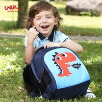 uek小学生书包1-3年级儿童双肩背包 6-9岁男女孩韩版减负护脊书包