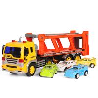 大号工程车模型耐摔儿童玩具车男孩可坐大货车卡车自卸车小孩子