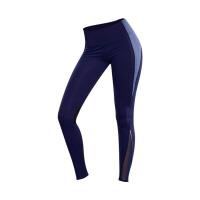 瑜伽裤女长裤高腰紧身裤运动裤显瘦跑步健身裤弹力速干网纱美腿裤