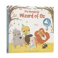 绿野仙踪英文绘本故事发声书 The Wonderful Wizard of Oz 英国原版 英文启蒙经典童话故事早教3