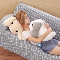 兔子毛绒玩具儿童玩偶抱枕礼物 布娃娃可爱女生小白兔公仔