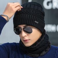 帽子男士冬季毛线帽潮针织套头帽保暖冬天帽青年棉帽