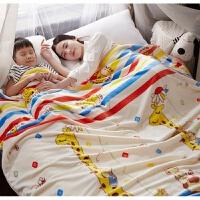 珊瑚绒毯子加厚法兰绒毛毯被子夏季午睡盖空调毯单双人毛巾被床单