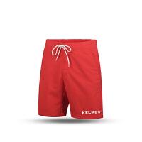 KELME卡尔美 K15F627 男式休闲运动短裤 户外速干跑步短裤 宽松五分沙滩裤