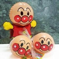 面包超人弹力小皮球KO不倒翁 婴儿响铃玩具