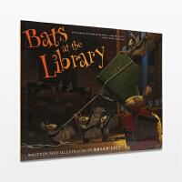 【11.11狂欢钜惠】美国进口 纽约时报畅销书 Bats at the Library 图书馆的蝙蝠【平装】