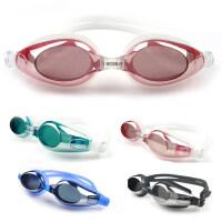 新款游泳眼镜泳镜电镀眼镜防水男女款游泳镜装备
