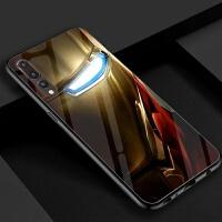 20190530173929903漫威钢铁侠周边华为p30/p20pro手机壳玻璃p9/10plus荣耀8xmax小罗