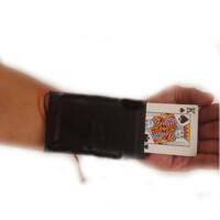 魔术扑克道具战神锦衣卫换牌器 变牌袖箭袖口多功能魔术变牌衣 锦衣卫升级版 黑色