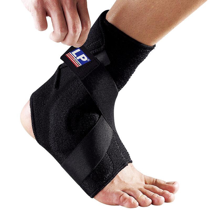 LP欧比运动护踝Z-type缠绕稳定型护踝528 网排足篮羽毛球脚踝护套 缠绕固定 垫片缓冲 脚踝防护