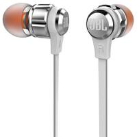 JBL T180A 立体声入耳式耳机 耳麦 一键式线控 麦克风 黑色 /红色 /银色 /灰色 /粉色