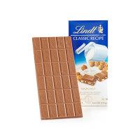 【 网易考拉】Lindt 瑞士莲 经典排装 榛果夹心 牛奶巧克力 125克/块*4