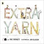 英文原版 Extra Yarn 神奇的纱线 凯迪克银奖绘本