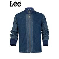 Lee 【断码】牛仔外套男士复古夹克蓝色男式L14217Q06T27