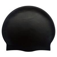 超大泳帽 游泳帽男女儿童纯色防水硅胶泳帽泳帽字HW