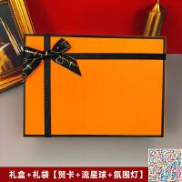 �Y物盒子ins�L精美�n版抖音�Y品盒大�生日伴手�Y盒包�b空盒