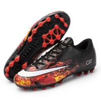 足球鞋男碎�人造草地AG�L�TF短�平底��鞋女�W生足球鞋�和�