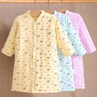 儿童睡袍秋冬季 宝宝婴儿睡衣 男童女童幼儿夹棉长袍