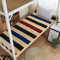 夏季家庭学生宿舍上下铺可水洗榻榻米床垫薄款单人双人垫子床褥子j
