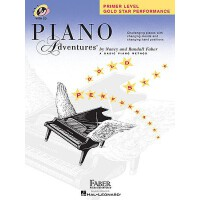 Piano Adventures: Primer Level: Gold Star Performance 97816