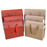 20180715100852271手提瓦楞礼盒 中秋月饼包装盒 水果礼品海鲜盒 鸡蛋月饼手提纸箱
