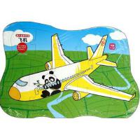 飞机(3-5岁15块)/超大益智拼图 正版 袁舒,杨芳 绘 9787536565449