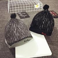 儿童帽子棒球帽男女宝宝帽子1-2岁鸭舌帽秋冬婴儿帽子6-12-24个月