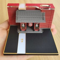 高考�Y物同款�u�日本�雕便�清水寺模型3D立�w便���意便利�N