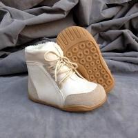 秋冬款儿童鞋韩版冬款儿童雪地靴男女童短靴女童皮棉靴保暖潮