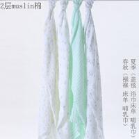 婴儿浴巾棉吸水新生儿浴巾儿童纱布浴巾柔毛巾被盖毯