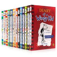 小屁孩日记英文原版12册 Diary of a Wimpy Kid1 哭包日记系列1-12本全套装 the meltd