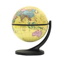 11cm博目仿古地球仪中英文政区地球仪 小号摆件单支点 万向旋转 礼品 装饰 Wander Globe 谷歌地球仪