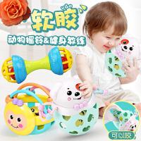 【支持礼品卡】手摇铃玩具婴儿童0-1岁宝宝手抓可咬软胶男孩女孩3-6-12个月8益智 x9s